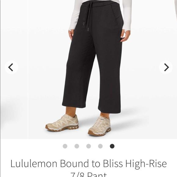 Lululemon bound to bliss pant